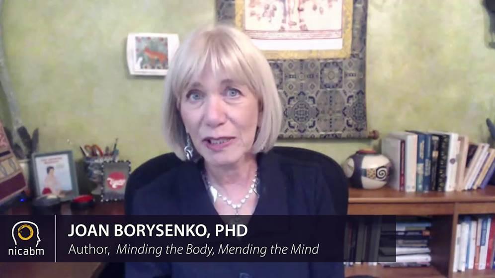 Joan Borysenko, PhD, speaking on attachment