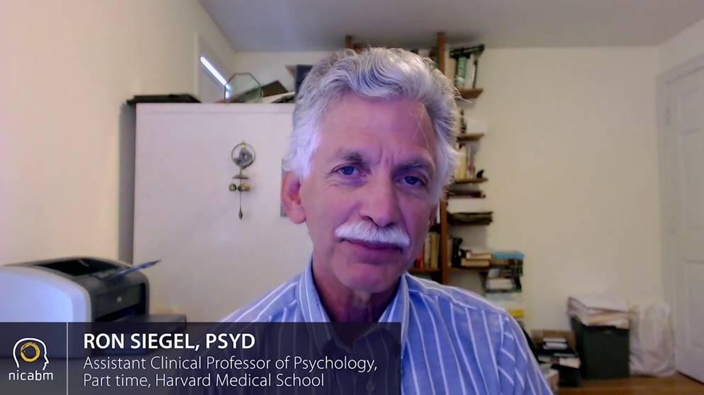 Ron Siegel, PsyD, speaking about attachment