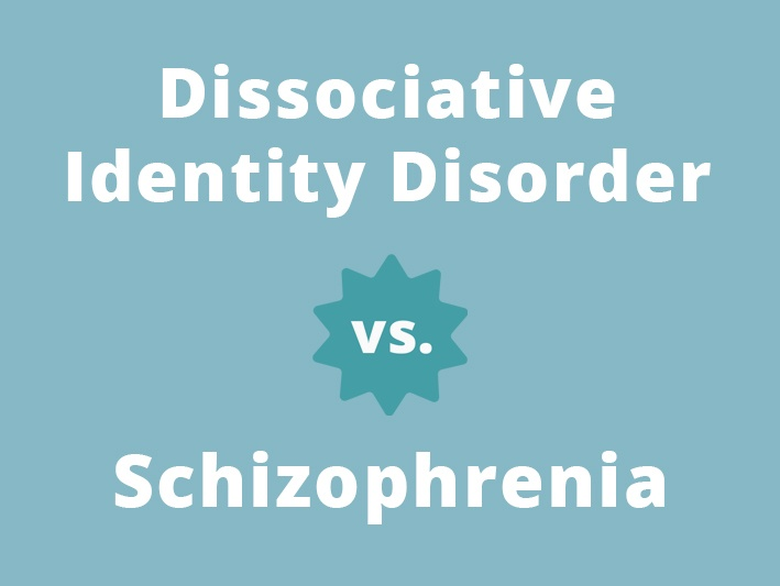 difference between DID and schizophrenia