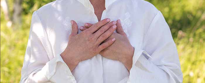 hands on heart practicing self compassion